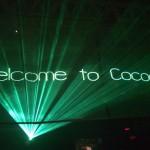 Laser show Cocoricò Riccione